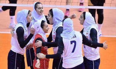 تیم ملی والیبال بانوان 1 400x240 شکست ایران برابر اندونزی در والیبال زنان انتخابی المپیک