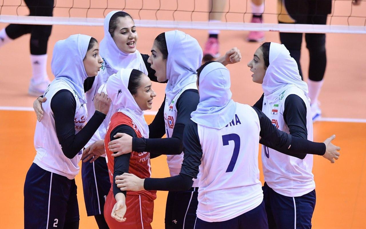 شکست ایران برابر اندونزی در والیبال زنان انتخابی المپیک
