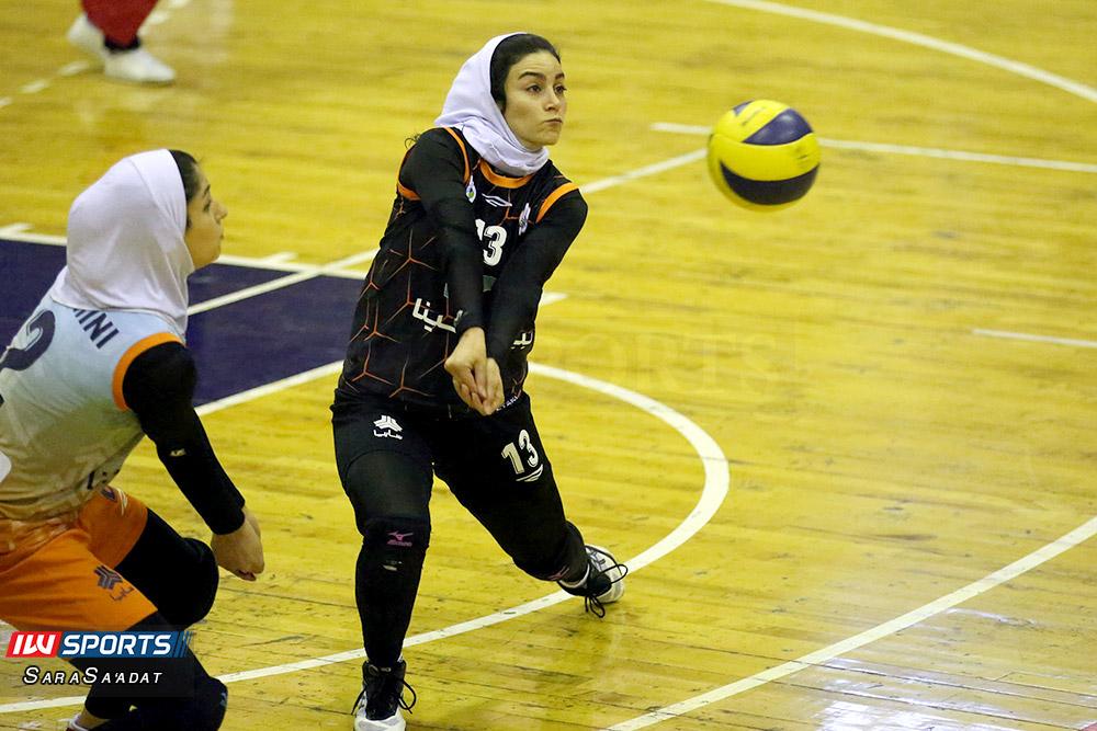 ذوب آهن اصفهان و سایپا لیگ برتر والیبال بانوان 17 گزارش تصویری | دیدار ذوب آهن و سایپا در لیگ برتر والیبال بانوان