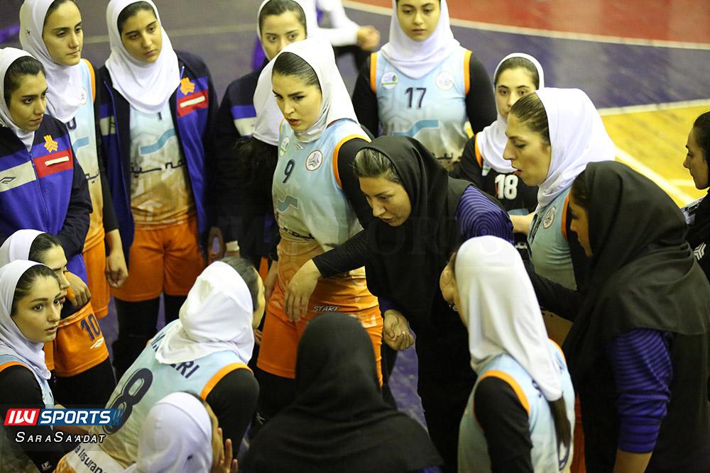 ذوب آهن اصفهان و سایپا لیگ برتر والیبال بانوان 18 گزارش تصویری | دیدار ذوب آهن و سایپا در لیگ برتر والیبال بانوان