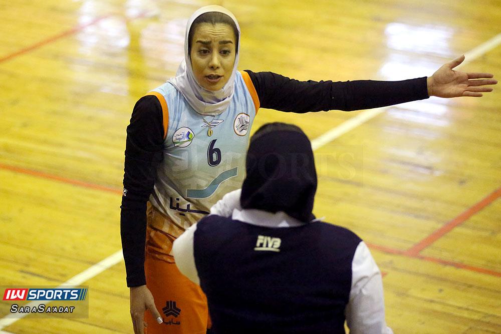 ذوب آهن اصفهان و سایپا لیگ برتر والیبال بانوان 19 گزارش تصویری | دیدار ذوب آهن و سایپا در لیگ برتر والیبال بانوان