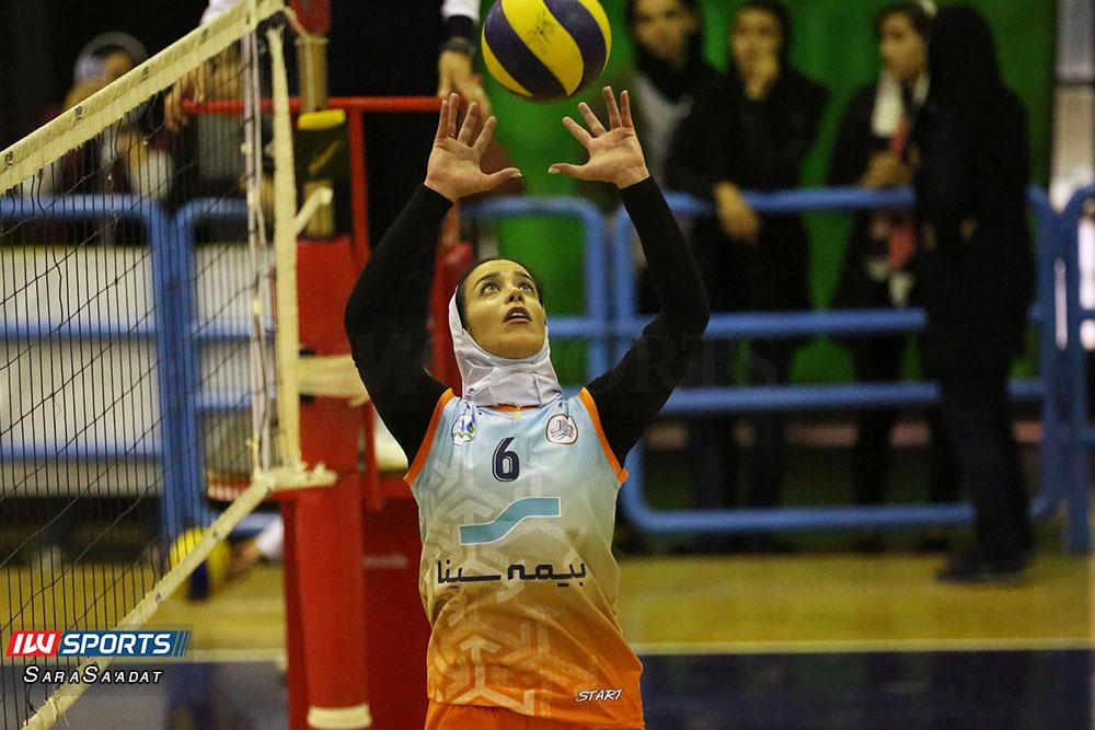 ذوب آهن اصفهان و سایپا لیگ برتر والیبال بانوان 22 گزارش تصویری | دیدار ذوب آهن و سایپا در لیگ برتر والیبال بانوان