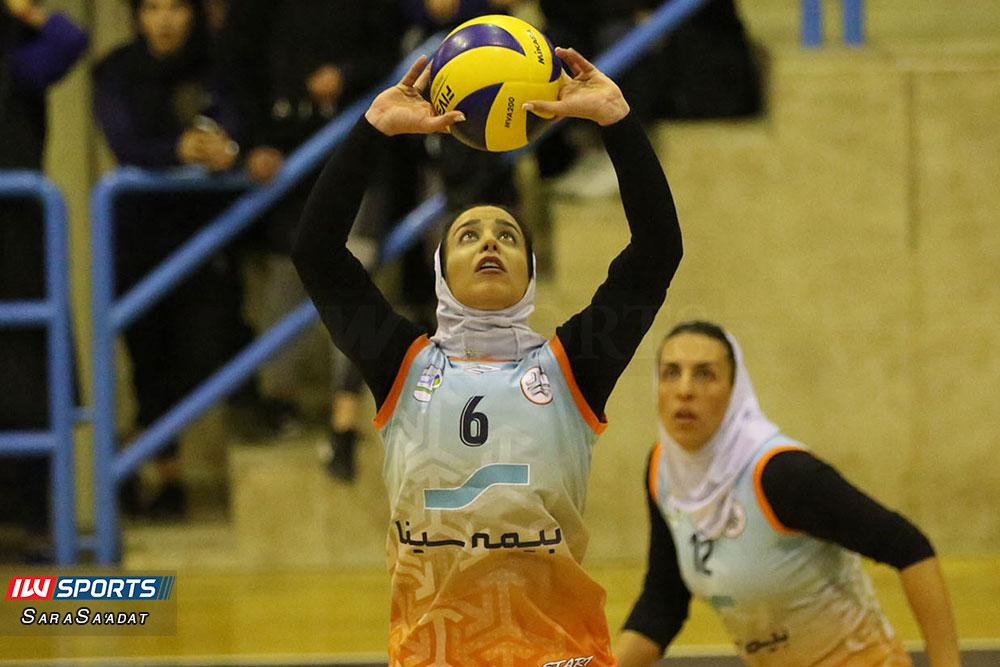 ذوب آهن اصفهان و سایپا لیگ برتر والیبال بانوان 23 گزارش تصویری | دیدار ذوب آهن و سایپا در لیگ برتر والیبال بانوان
