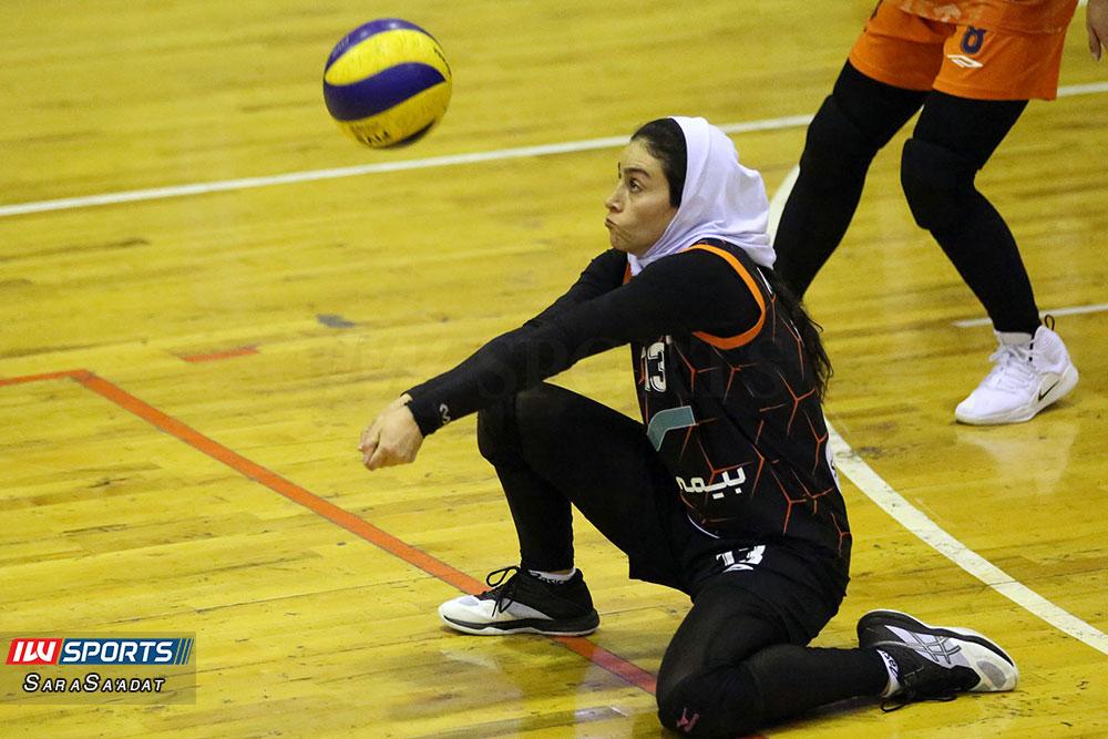 ذوب آهن اصفهان و سایپا لیگ برتر والیبال بانوان 24 گزارش تصویری | دیدار ذوب آهن و سایپا در لیگ برتر والیبال بانوان