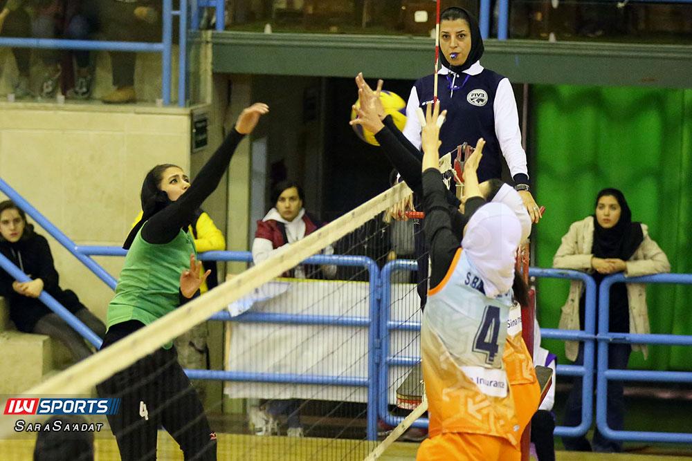 ذوب آهن اصفهان و سایپا لیگ برتر والیبال بانوان 28 گزارش تصویری | دیدار ذوب آهن و سایپا در لیگ برتر والیبال بانوان