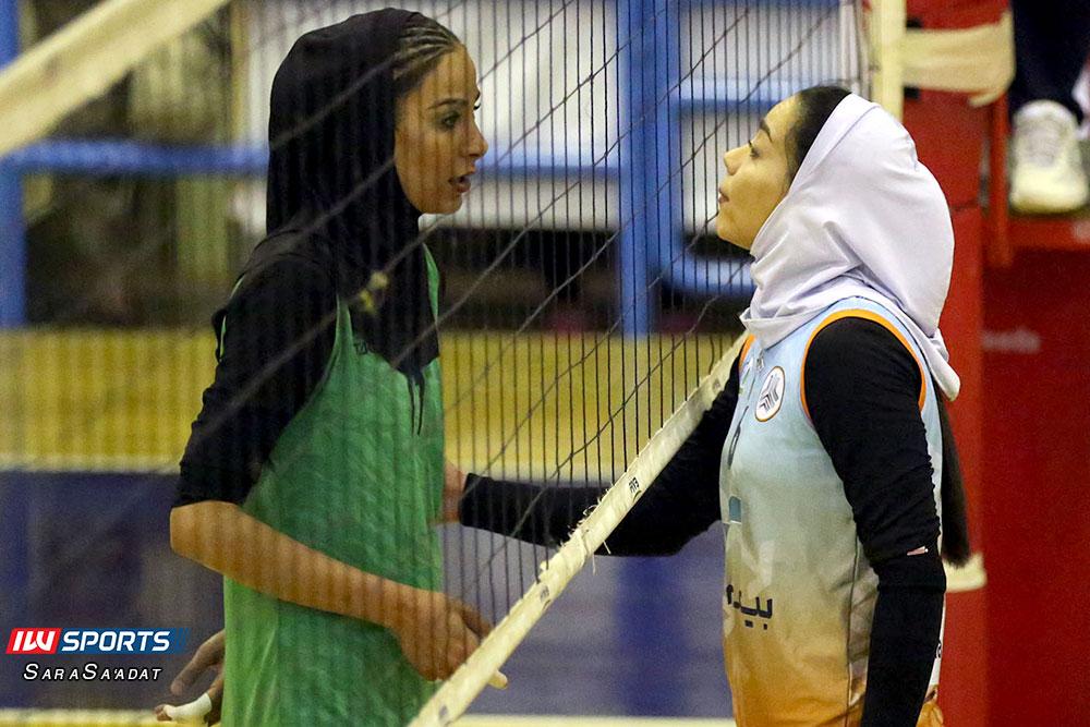 ذوب آهن اصفهان و سایپا لیگ برتر والیبال بانوان 31 گزارش تصویری | دیدار ذوب آهن و سایپا در لیگ برتر والیبال بانوان