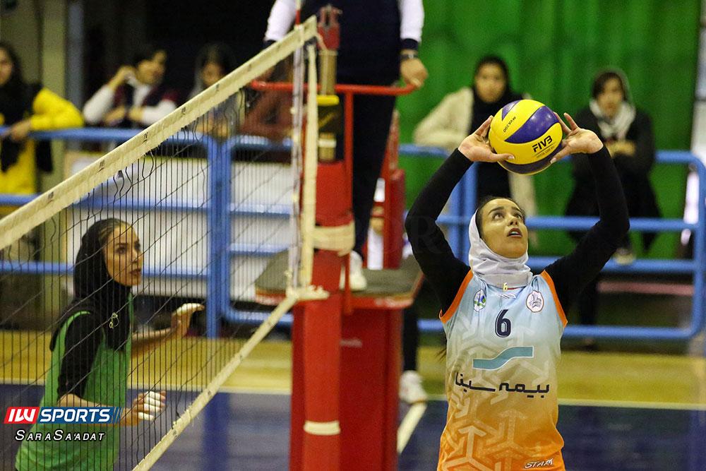 ذوب آهن اصفهان و سایپا لیگ برتر والیبال بانوان 32 گزارش تصویری | دیدار ذوب آهن و سایپا در لیگ برتر والیبال بانوان