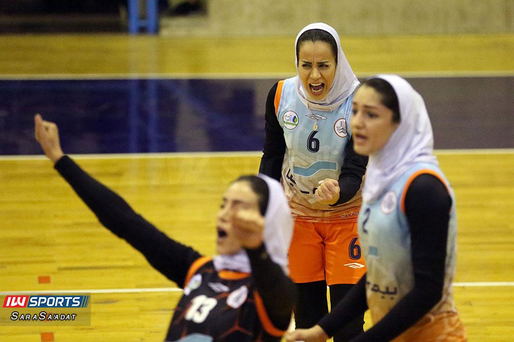 ذوب آهن اصفهان و سایپا لیگ برتر والیبال بانوان 33 گزارش تصویری | دیدار ذوب آهن و سایپا در لیگ برتر والیبال بانوان