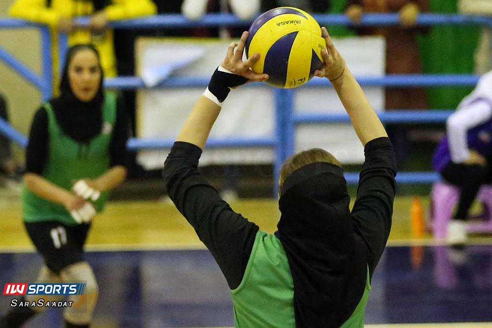 ذوب آهن اصفهان و سایپا لیگ برتر والیبال بانوان 34 گزارش تصویری | دیدار ذوب آهن و سایپا در لیگ برتر والیبال بانوان