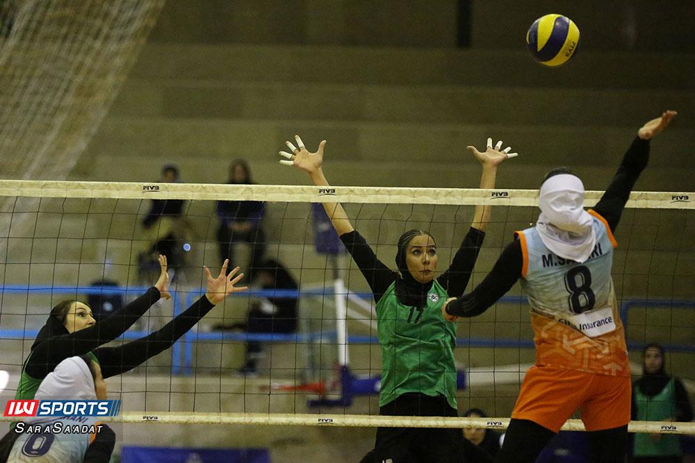 ذوب آهن اصفهان و سایپا لیگ برتر والیبال بانوان 37 گزارش تصویری | دیدار ذوب آهن و سایپا در لیگ برتر والیبال بانوان