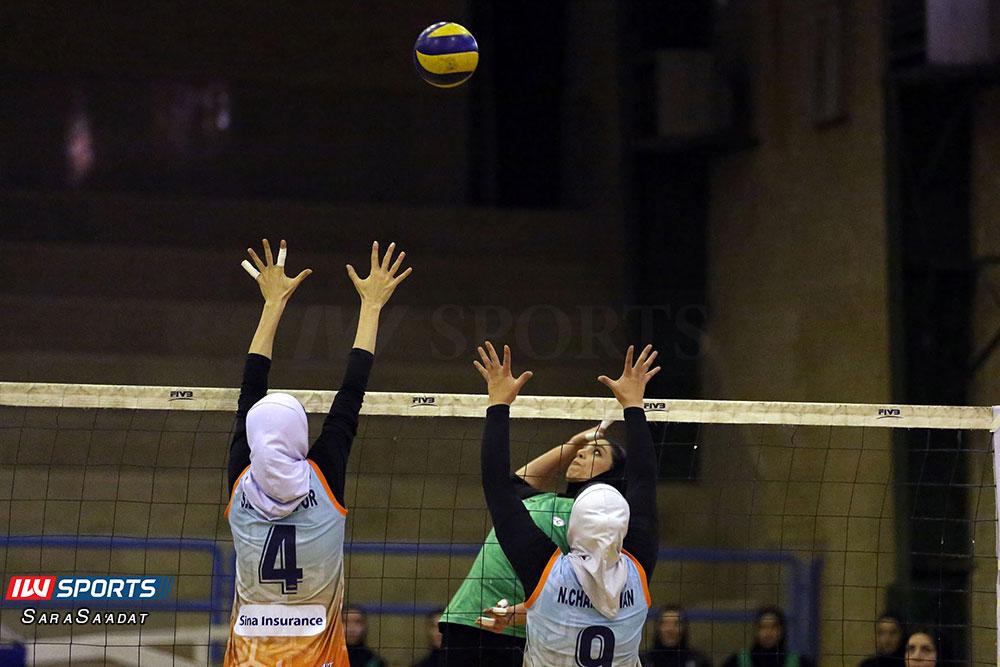ذوب آهن اصفهان و سایپا لیگ برتر والیبال بانوان 39 گزارش تصویری | دیدار ذوب آهن و سایپا در لیگ برتر والیبال بانوان