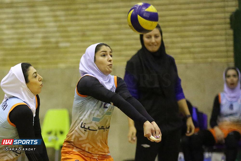 ذوب آهن اصفهان و سایپا لیگ برتر والیبال بانوان 4 گزارش تصویری | دیدار ذوب آهن و سایپا در لیگ برتر والیبال بانوان