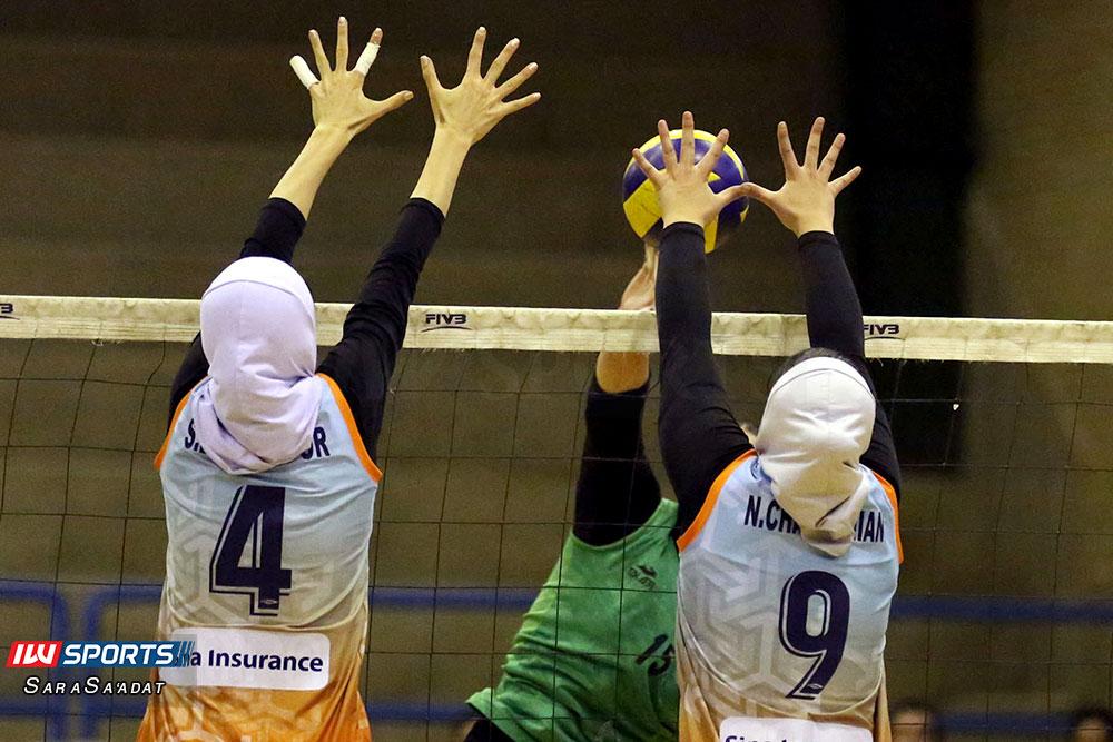 ذوب آهن اصفهان و سایپا لیگ برتر والیبال بانوان 40 گزارش تصویری | دیدار ذوب آهن و سایپا در لیگ برتر والیبال بانوان