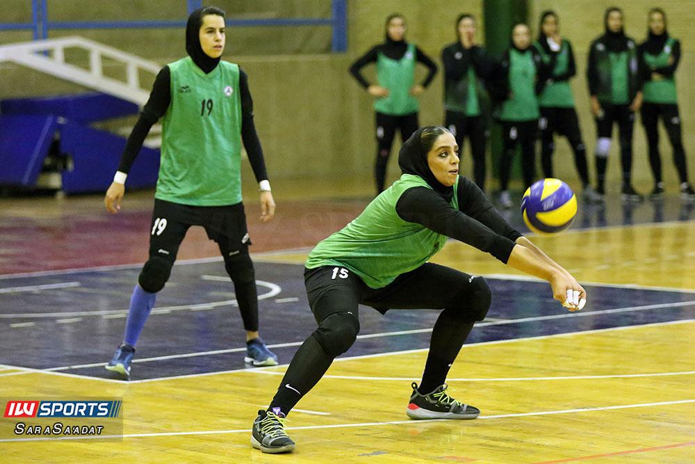 ذوب آهن اصفهان و سایپا لیگ برتر والیبال بانوان 41 گزارش تصویری | دیدار ذوب آهن و سایپا در لیگ برتر والیبال بانوان