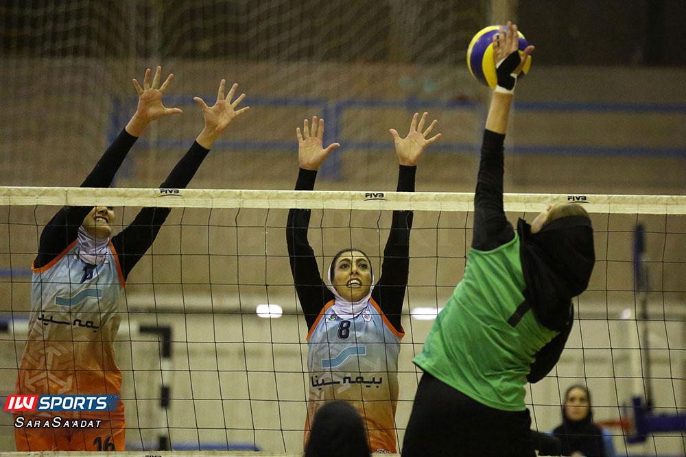 ذوب آهن اصفهان و سایپا لیگ برتر والیبال بانوان 43 گزارش تصویری | دیدار ذوب آهن و سایپا در لیگ برتر والیبال بانوان