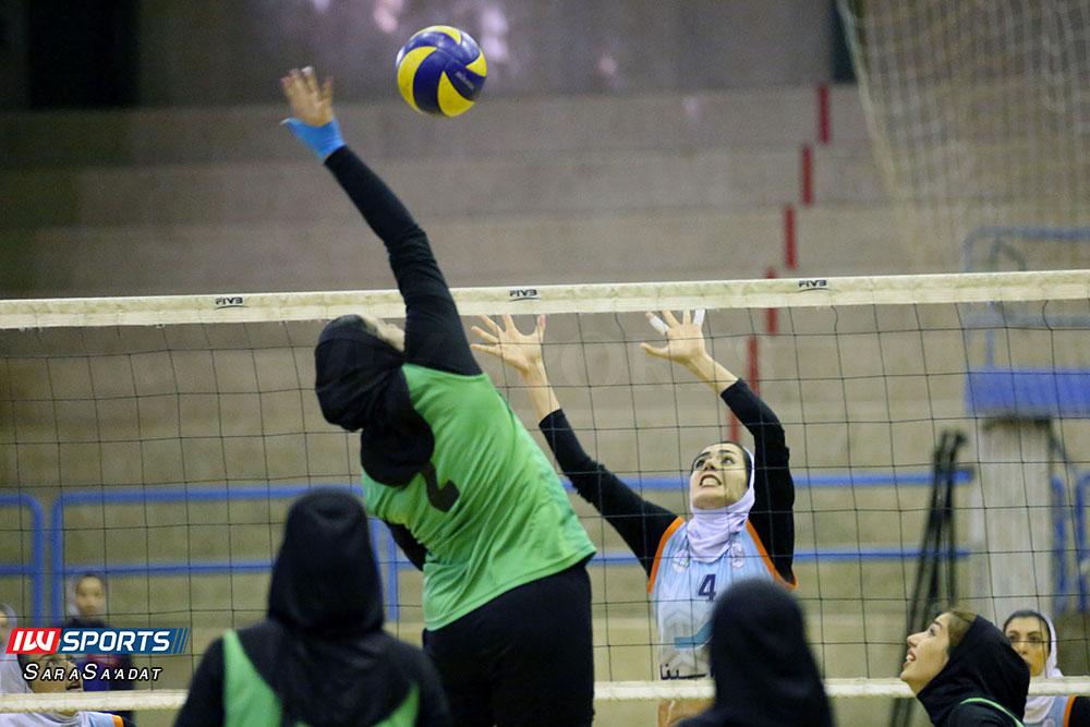 ذوب آهن اصفهان و سایپا لیگ برتر والیبال بانوان 44 گزارش تصویری | دیدار ذوب آهن و سایپا در لیگ برتر والیبال بانوان