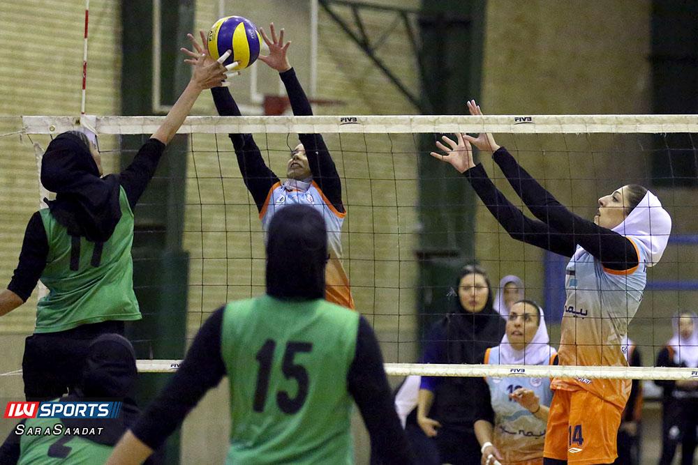 ذوب آهن اصفهان و سایپا لیگ برتر والیبال بانوان 45 گزارش تصویری | دیدار ذوب آهن و سایپا در لیگ برتر والیبال بانوان