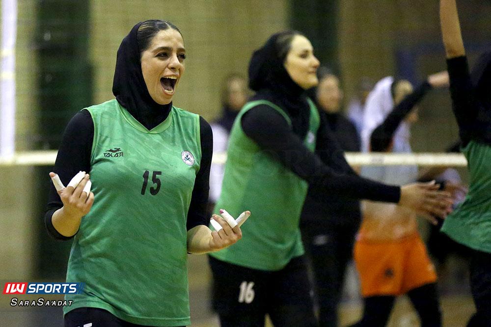 ذوب آهن اصفهان و سایپا لیگ برتر والیبال بانوان 46 گزارش تصویری | دیدار ذوب آهن و سایپا در لیگ برتر والیبال بانوان