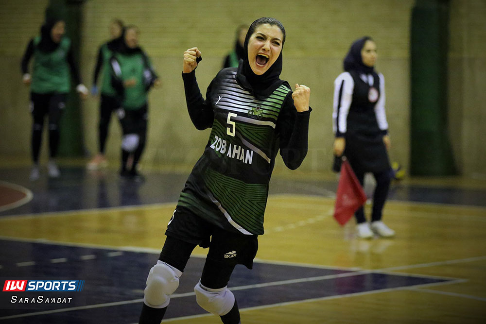 ذوب آهن اصفهان و سایپا لیگ برتر والیبال بانوان 47 گزارش تصویری | دیدار ذوب آهن و سایپا در لیگ برتر والیبال بانوان