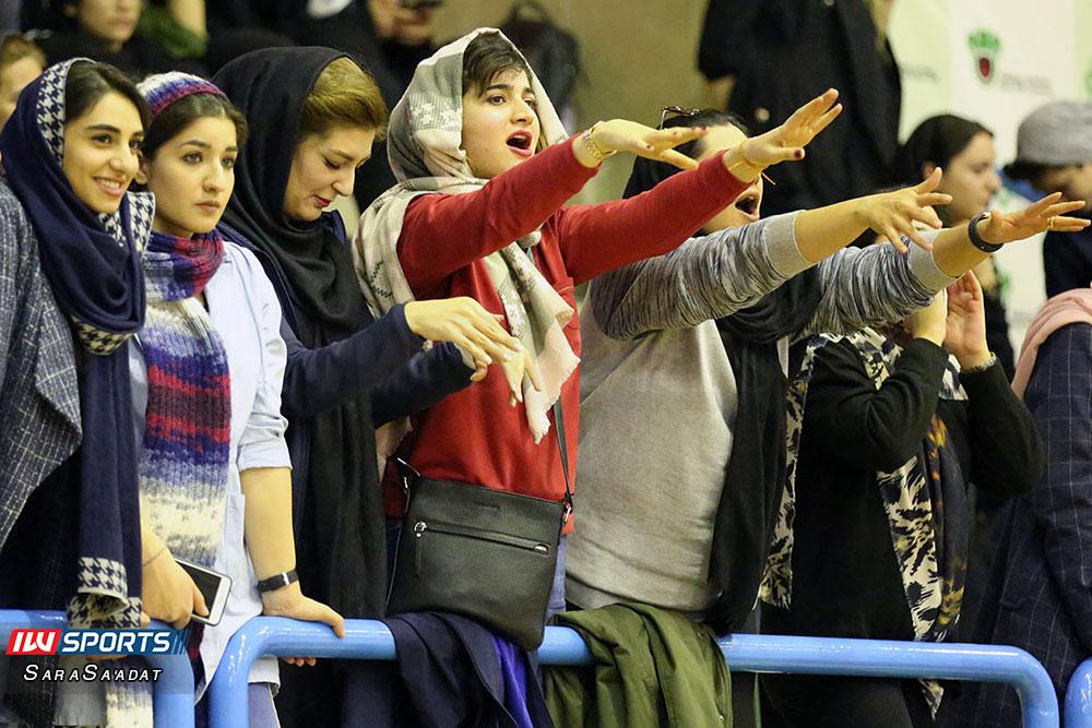 ذوب آهن اصفهان و سایپا لیگ برتر والیبال بانوان 48 گزارش تصویری | دیدار ذوب آهن و سایپا در لیگ برتر والیبال بانوان