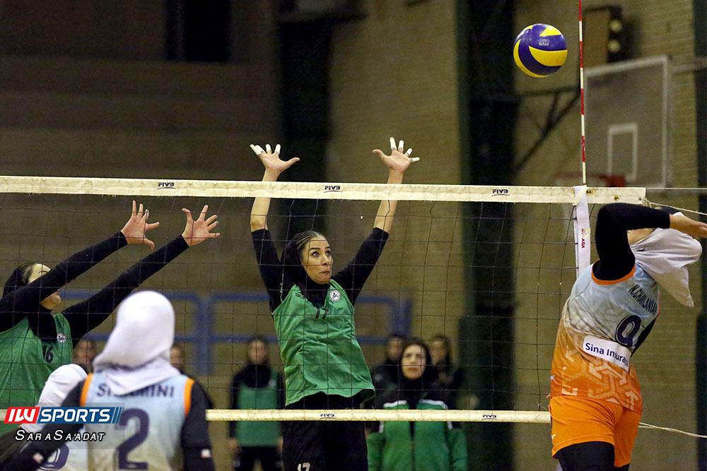 ذوب آهن اصفهان و سایپا لیگ برتر والیبال بانوان 49 گزارش تصویری | دیدار ذوب آهن و سایپا در لیگ برتر والیبال بانوان
