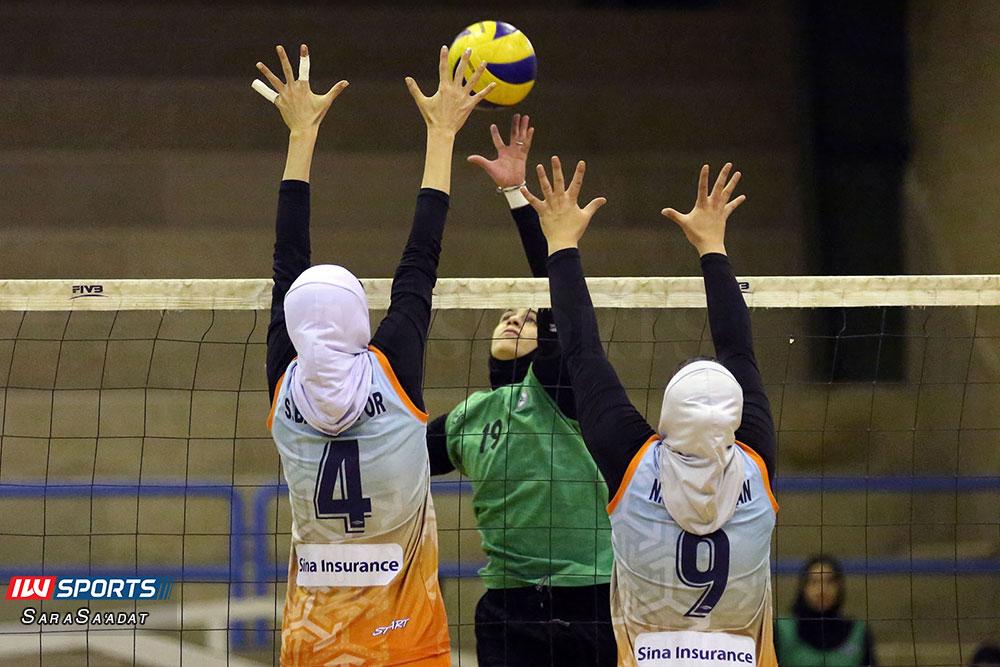 ذوب آهن اصفهان و سایپا لیگ برتر والیبال بانوان 51 گزارش تصویری | دیدار ذوب آهن و سایپا در لیگ برتر والیبال بانوان