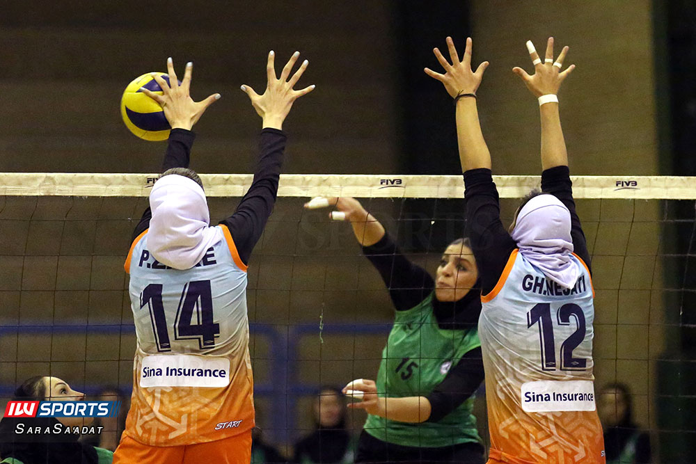 ذوب آهن اصفهان و سایپا لیگ برتر والیبال بانوان 52 گزارش تصویری | دیدار ذوب آهن و سایپا در لیگ برتر والیبال بانوان