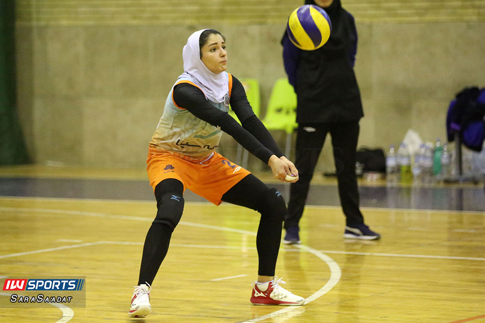 ذوب آهن اصفهان و سایپا لیگ برتر والیبال بانوان 56 گزارش تصویری | دیدار ذوب آهن و سایپا در لیگ برتر والیبال بانوان