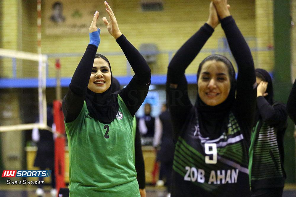 ذوب آهن اصفهان و سایپا لیگ برتر والیبال بانوان 59 گزارش تصویری | دیدار ذوب آهن و سایپا در لیگ برتر والیبال بانوان