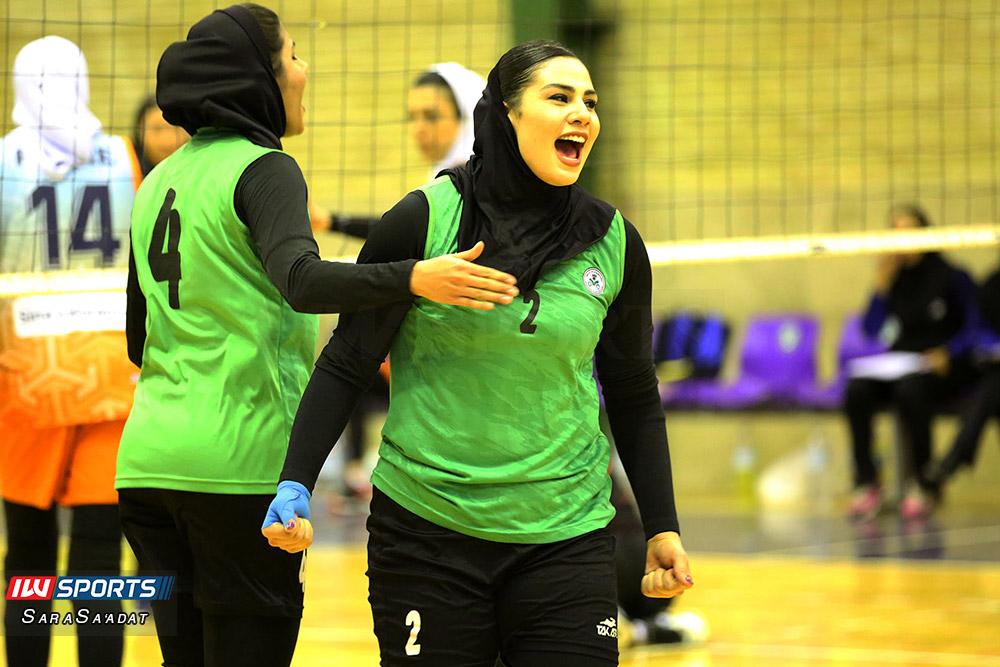 ذوب آهن اصفهان و سایپا لیگ برتر والیبال بانوان 6 گزارش تصویری | دیدار ذوب آهن و سایپا در لیگ برتر والیبال بانوان