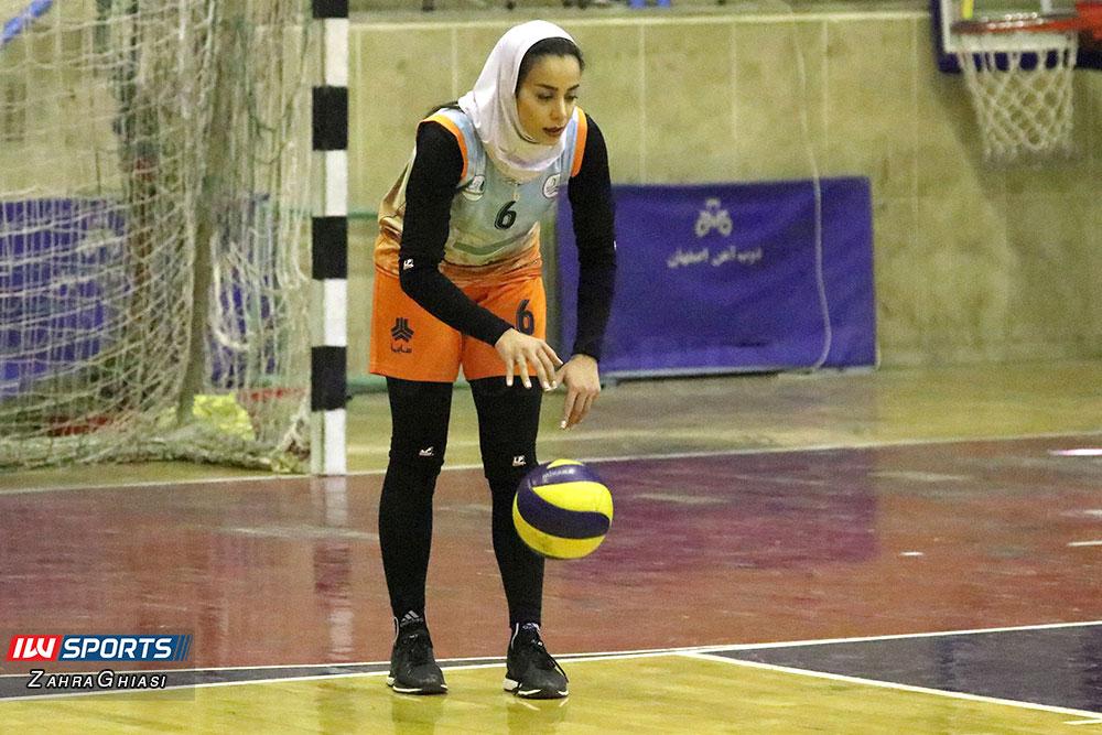 ذوب آهن اصفهان و سایپا لیگ برتر والیبال بانوان 63 گزارش تصویری | دیدار ذوب آهن و سایپا در لیگ برتر والیبال بانوان