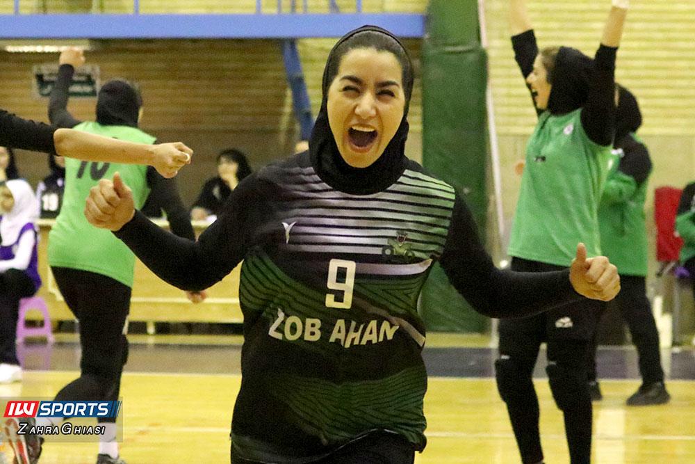 ذوب آهن اصفهان و سایپا لیگ برتر والیبال بانوان 64 گزارش تصویری | دیدار ذوب آهن و سایپا در لیگ برتر والیبال بانوان
