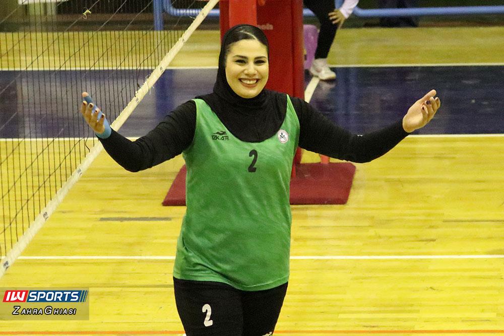 ذوب آهن اصفهان و سایپا لیگ برتر والیبال بانوان 66 گزارش تصویری | دیدار ذوب آهن و سایپا در لیگ برتر والیبال بانوان