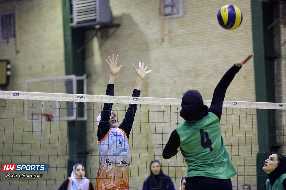 ذوب آهن اصفهان و سایپا لیگ برتر والیبال بانوان 7 گزارش تصویری | دیدار ذوب آهن و سایپا در لیگ برتر والیبال بانوان
