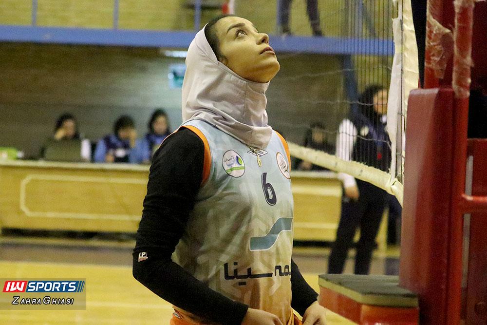 ذوب آهن اصفهان و سایپا لیگ برتر والیبال بانوان 73 گزارش تصویری | دیدار ذوب آهن و سایپا در لیگ برتر والیبال بانوان