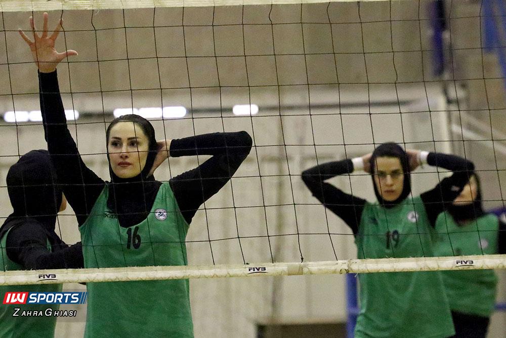 ذوب آهن اصفهان و سایپا لیگ برتر والیبال بانوان 77 گزارش تصویری | دیدار ذوب آهن و سایپا در لیگ برتر والیبال بانوان