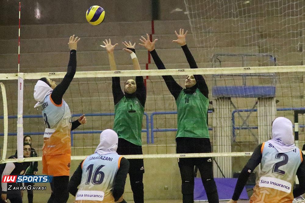 ذوب آهن اصفهان و سایپا لیگ برتر والیبال بانوان 78 گزارش تصویری | دیدار ذوب آهن و سایپا در لیگ برتر والیبال بانوان