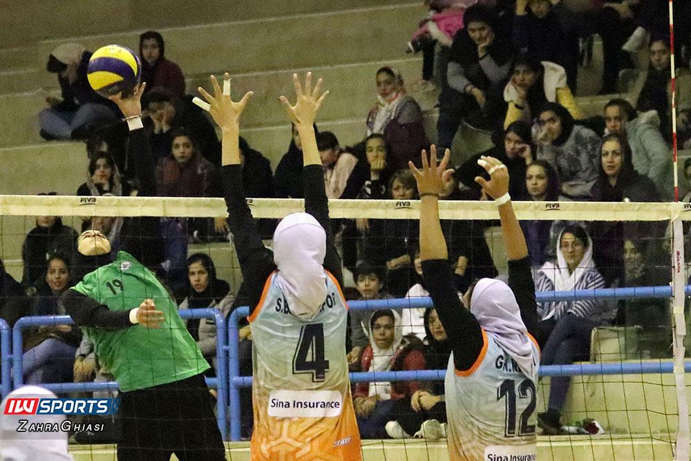 ذوب آهن اصفهان و سایپا لیگ برتر والیبال بانوان 79 گزارش تصویری | دیدار ذوب آهن و سایپا در لیگ برتر والیبال بانوان