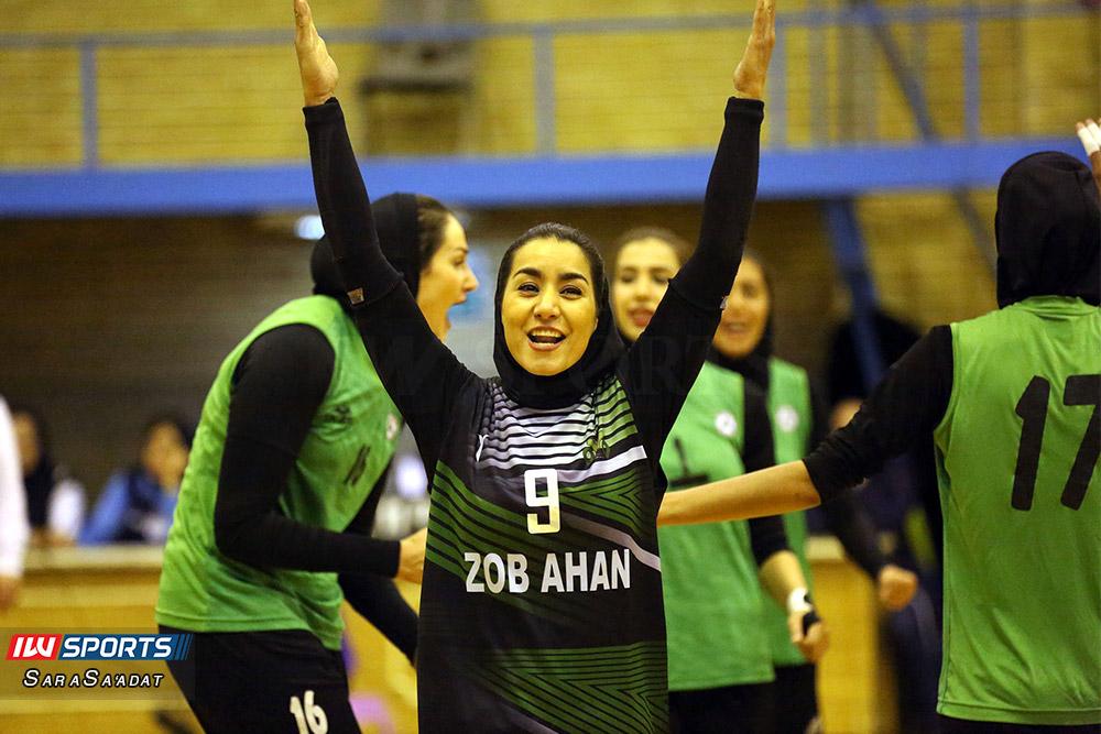 ذوب آهن اصفهان و سایپا لیگ برتر والیبال بانوان 8 گزارش تصویری | دیدار ذوب آهن و سایپا در لیگ برتر والیبال بانوان