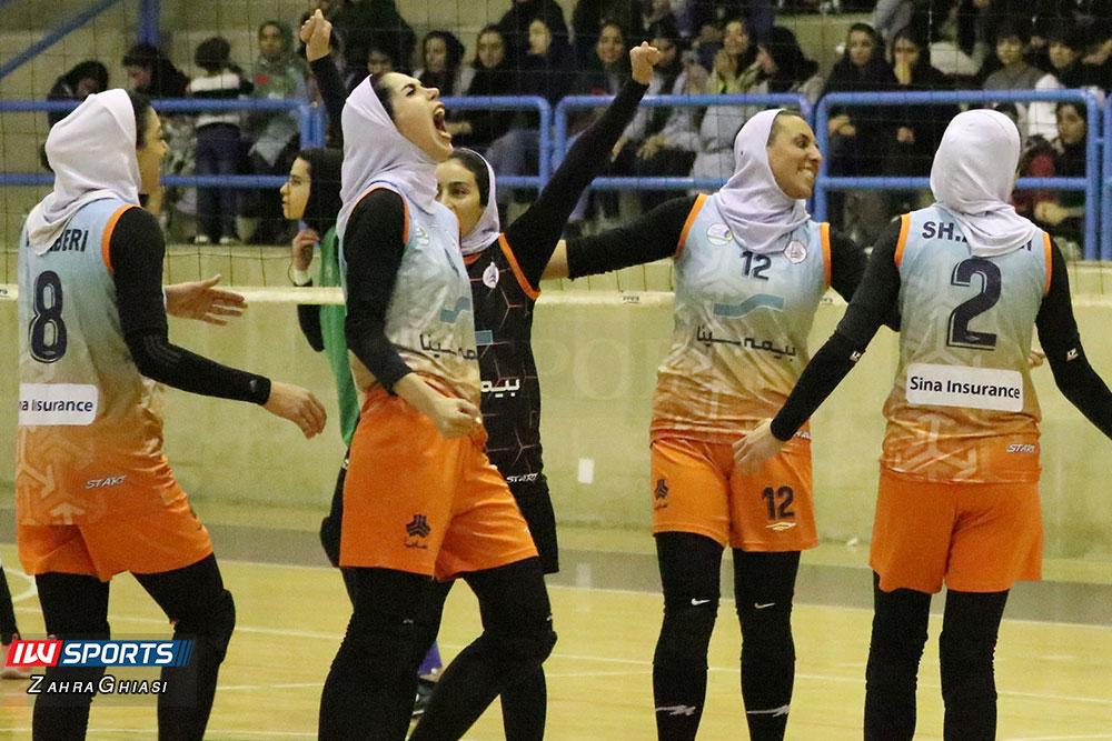ذوب آهن اصفهان و سایپا لیگ برتر والیبال بانوان 80 گزارش تصویری | دیدار ذوب آهن و سایپا در لیگ برتر والیبال بانوان