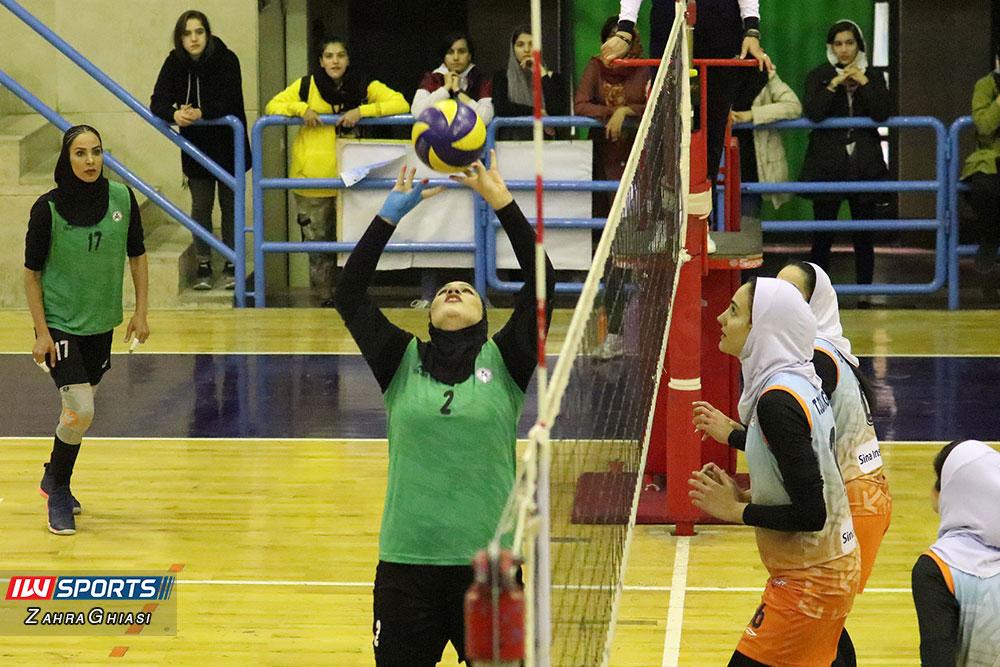 ذوب آهن اصفهان و سایپا لیگ برتر والیبال بانوان 81 گزارش تصویری | دیدار ذوب آهن و سایپا در لیگ برتر والیبال بانوان