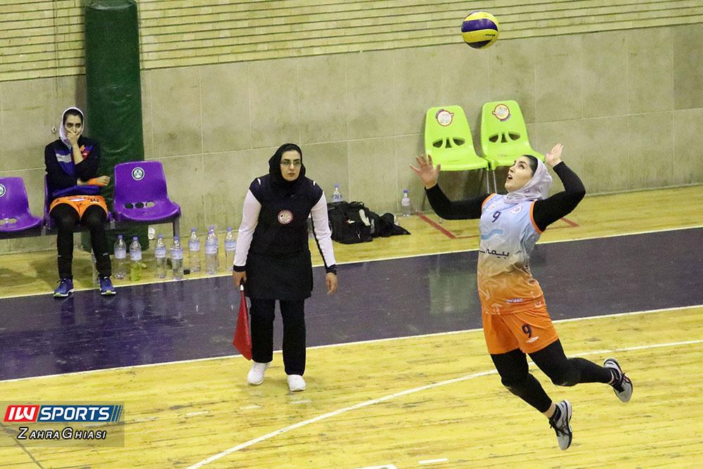 ذوب آهن اصفهان و سایپا لیگ برتر والیبال بانوان 84 گزارش تصویری | دیدار ذوب آهن و سایپا در لیگ برتر والیبال بانوان