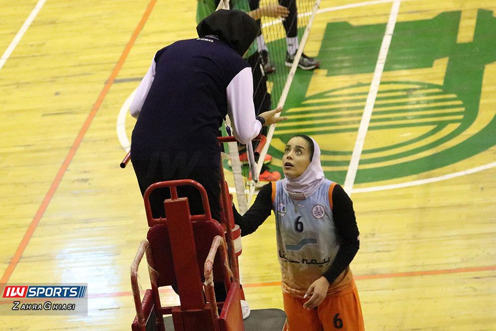 ذوب آهن اصفهان و سایپا لیگ برتر والیبال بانوان 85 گزارش تصویری | دیدار ذوب آهن و سایپا در لیگ برتر والیبال بانوان