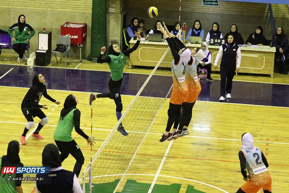 ذوب آهن اصفهان و سایپا لیگ برتر والیبال بانوان 90 گزارش تصویری | دیدار ذوب آهن و سایپا در لیگ برتر والیبال بانوان