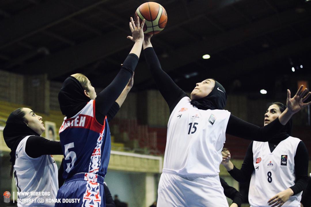 سقوط گاز تهران به لیگ دسته یک بسکتبال بانوان