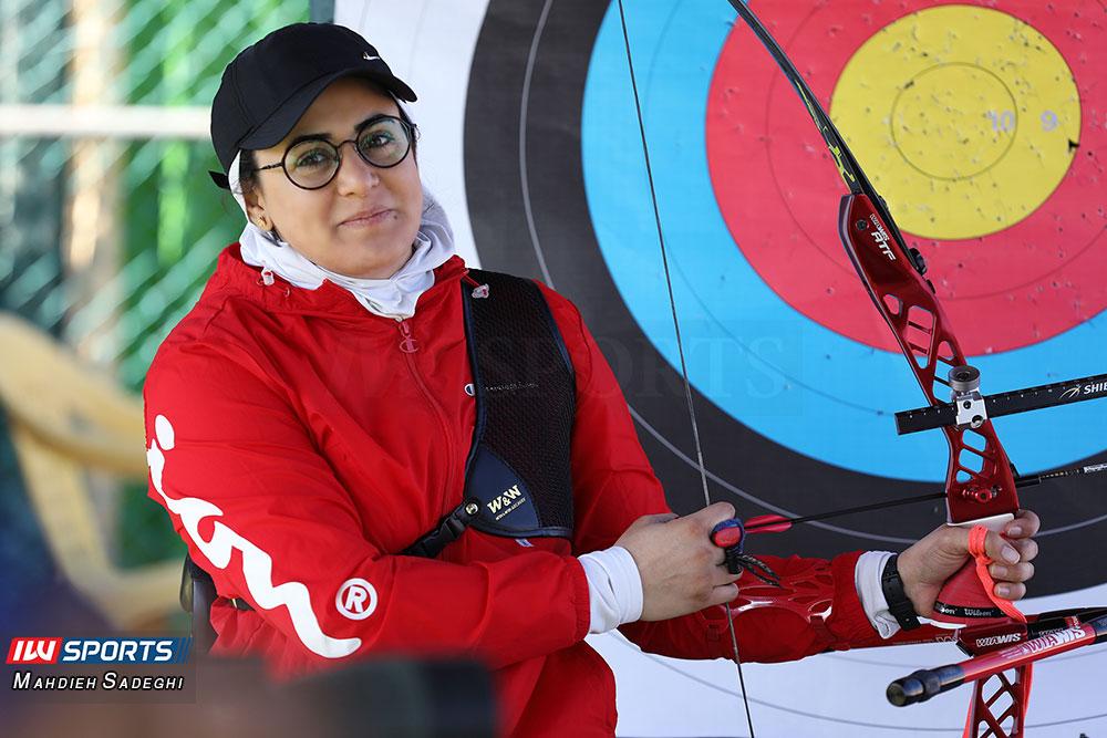 زهرا نعمتی 3 همراه با زهرا نعمتی در اردوی تیم ملی تیراندازی با کمان در جزیره کیش (تصاویر)