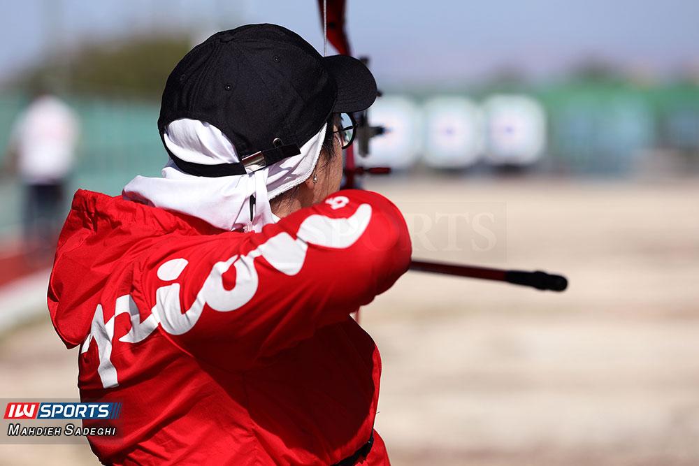 زهرا نعمتی 5 همراه با زهرا نعمتی در اردوی تیم ملی تیراندازی با کمان در جزیره کیش (تصاویر)