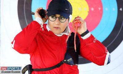 زهرا نعمتی 6 400x240 همراه با زهرا نعمتی در اردوی تیم ملی تیراندازی با کمان در جزیره کیش (تصاویر)