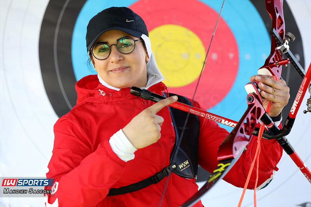 زهرا نعمتی 8 همراه با زهرا نعمتی در اردوی تیم ملی تیراندازی با کمان در جزیره کیش (تصاویر)