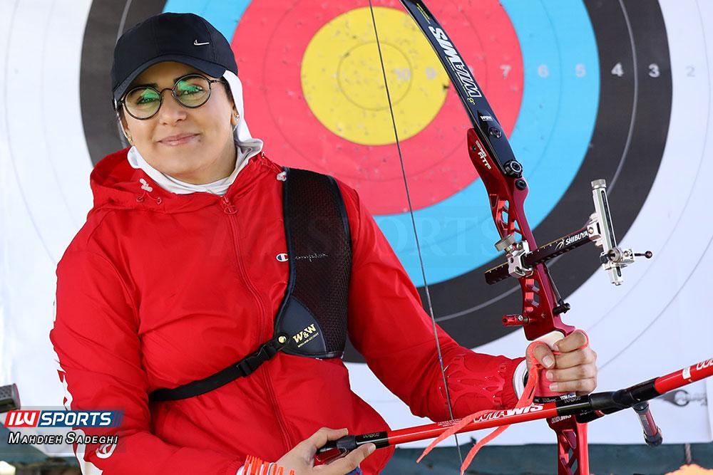 زهرا نعمتی 9 همراه با زهرا نعمتی در اردوی تیم ملی تیراندازی با کمان در جزیره کیش (تصاویر)